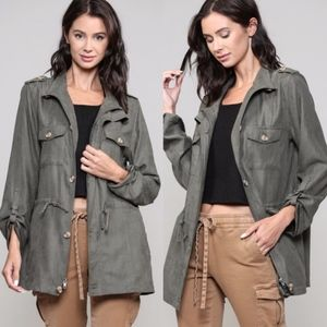 STACY Chic Olive Jacket